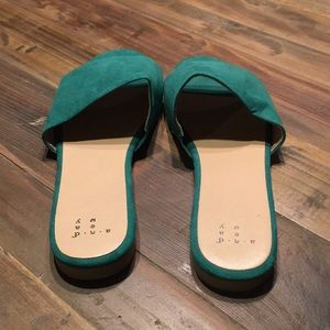 Green Summer Slides